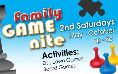 Family Game Nite this Saturday!